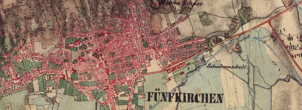 Pécs, 1806-1869