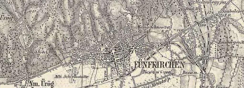 Pécs, 1869-1887