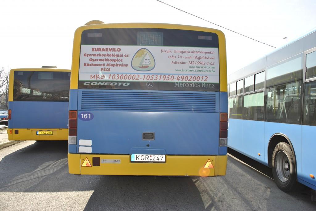 Eurakvilo Alapítvány járműreklám