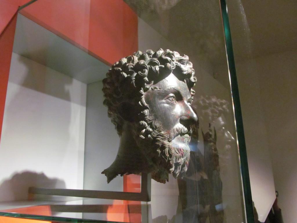 Marcus Aurelius feje
