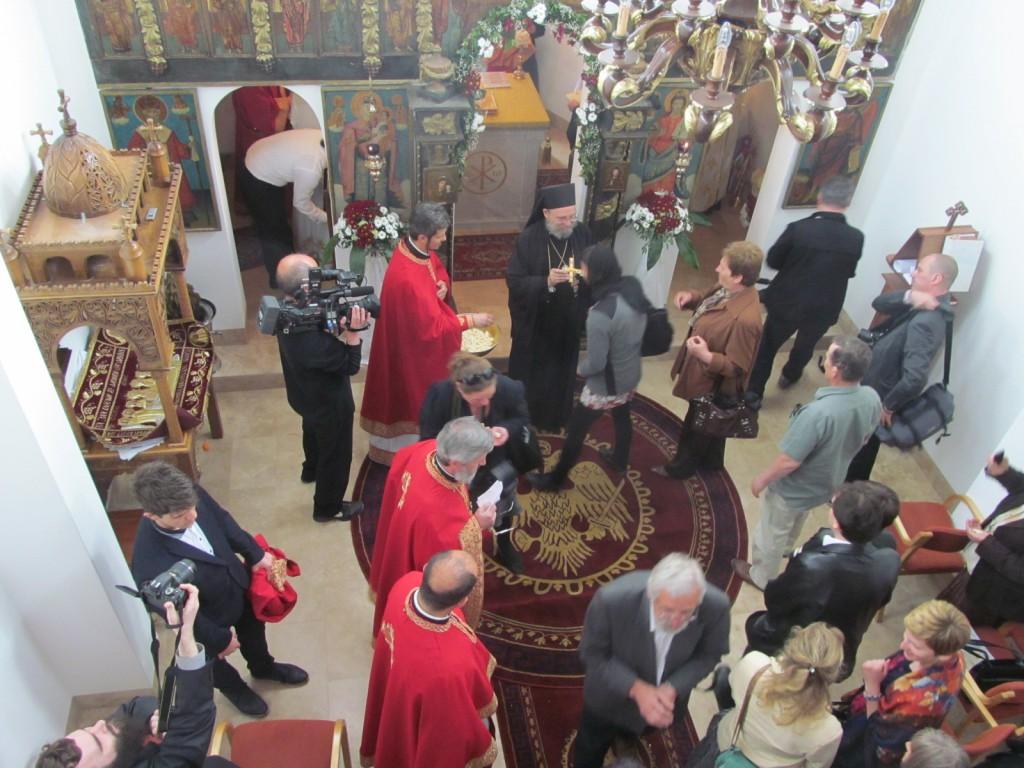 A kápolna belülről