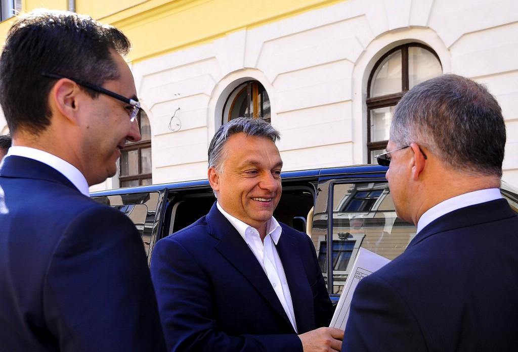 Orbán Viktor; Kósa Lajos; Papp László