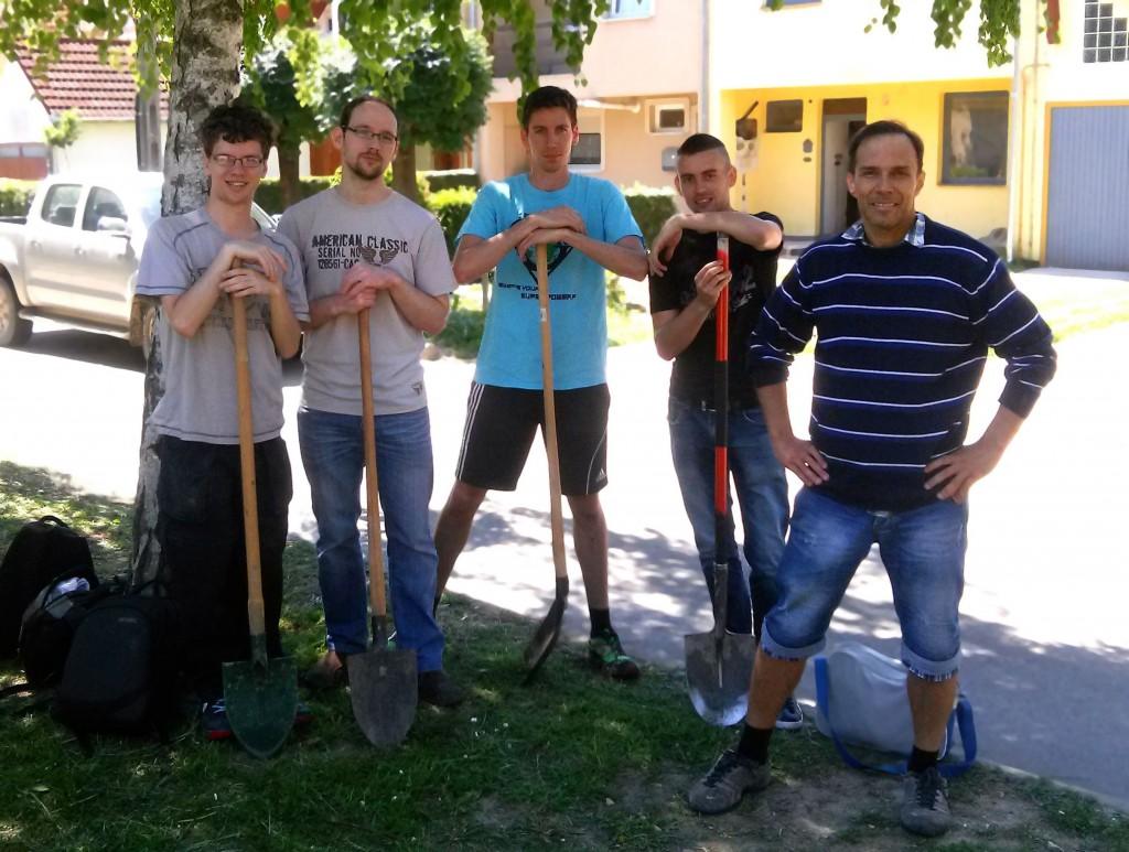 Az önkéntes csapat készen áll