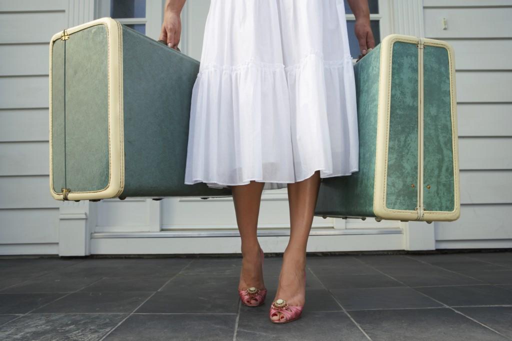 bőrönd, utazás, nyaralás