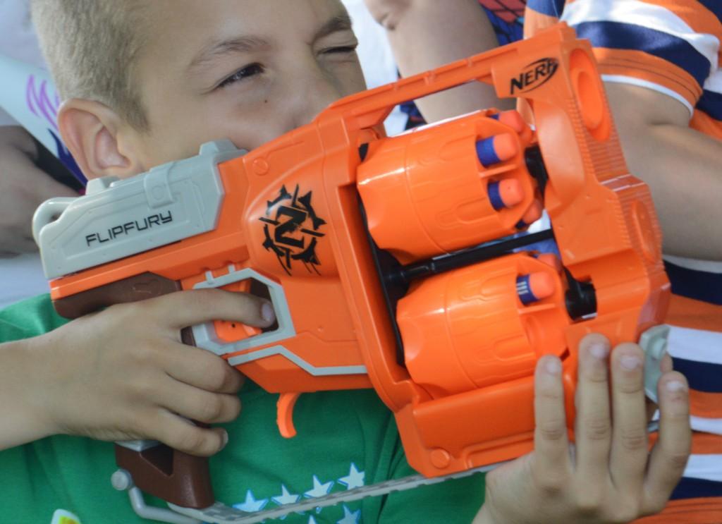 Imádták a Nerf lövöldözős játékait