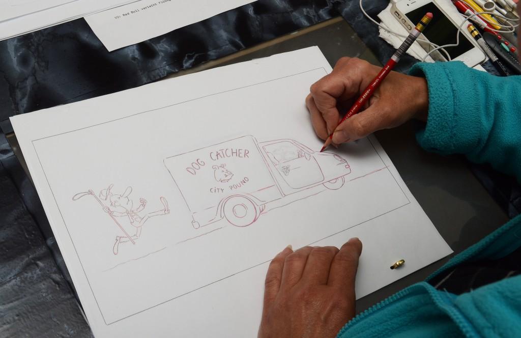 Mindent kézzel rajzolnak