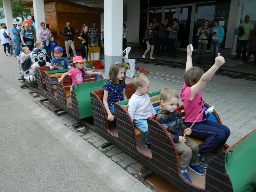 Család Expo 2014_vonat
