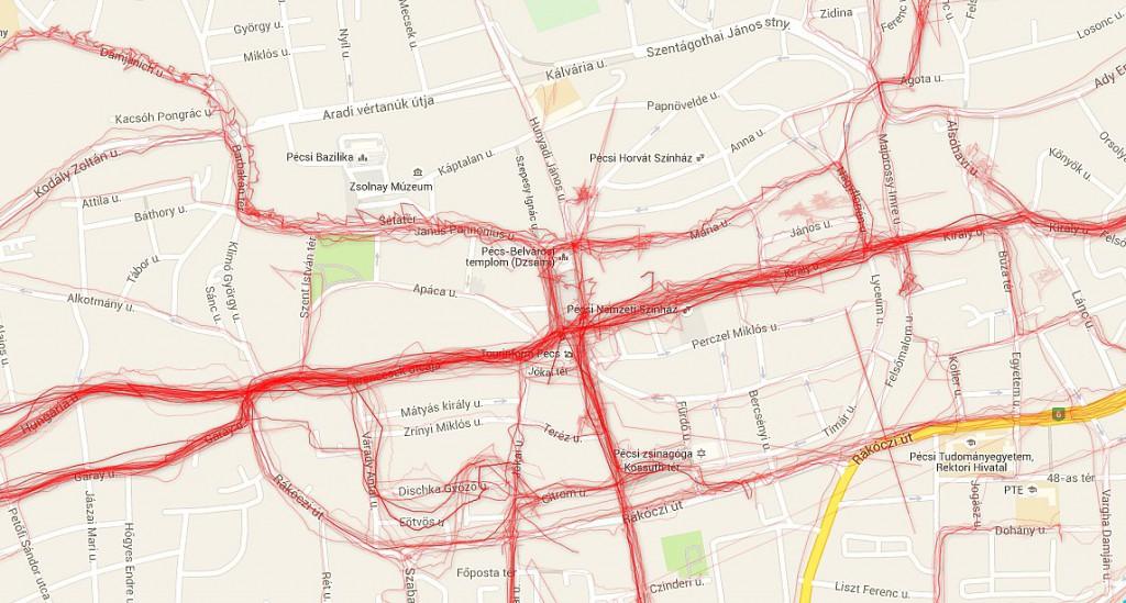 Biciklis útvonalak, Urban Cyclr1
