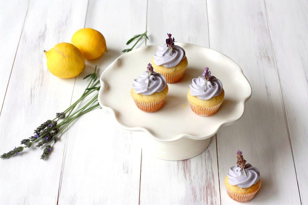 Levendula cupcake 2