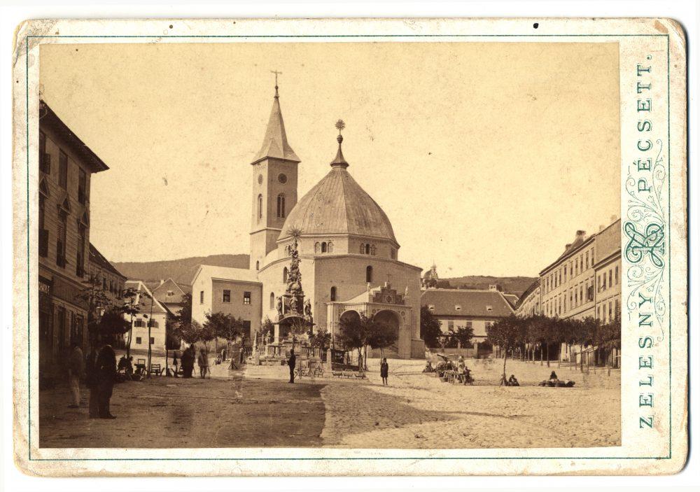 A tér az 1880-as években, az akkori Dzsámival