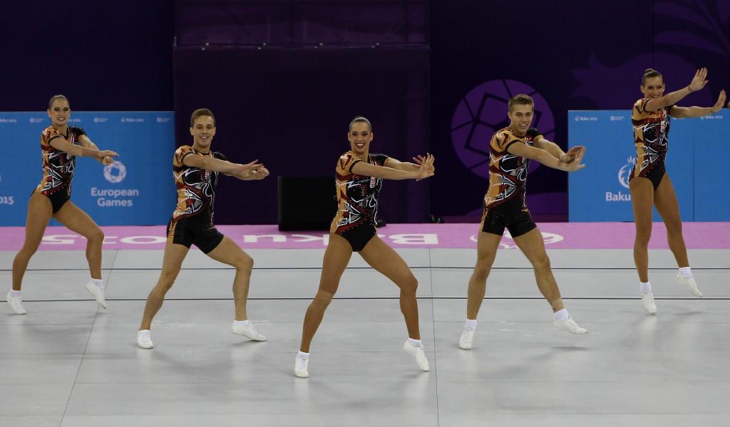 Európa Játékok - Aerobik