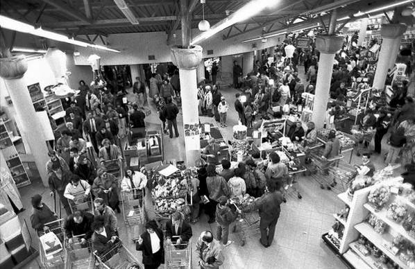 Bevásárlás a FEMA-ban, a '90-es évek elején