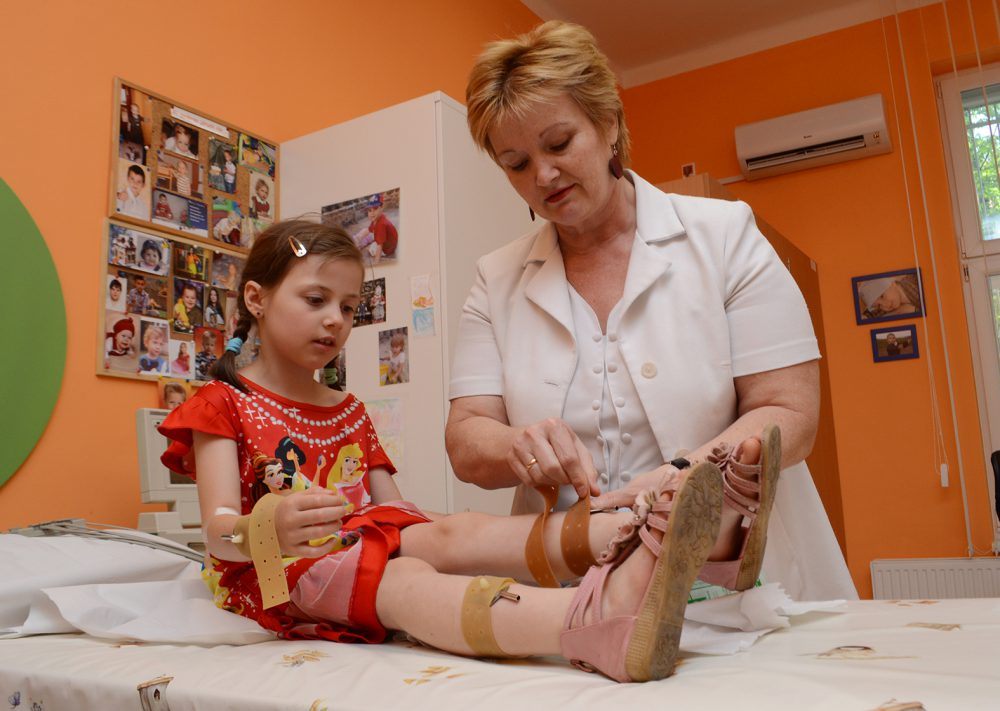 A gyermekklinikának szüksége van a támogatásra