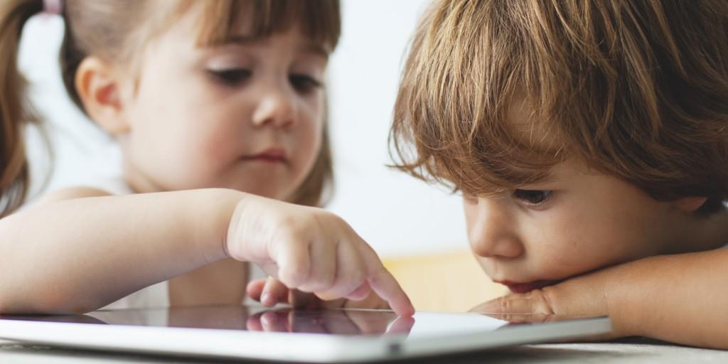 okostelefon, gyerek, tablet
