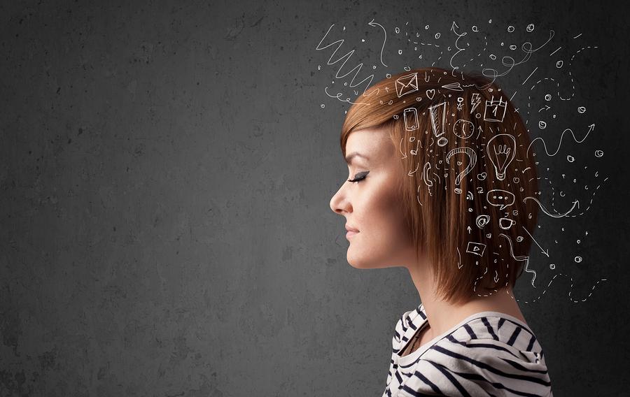 okos nő, értelem, gondolkodás