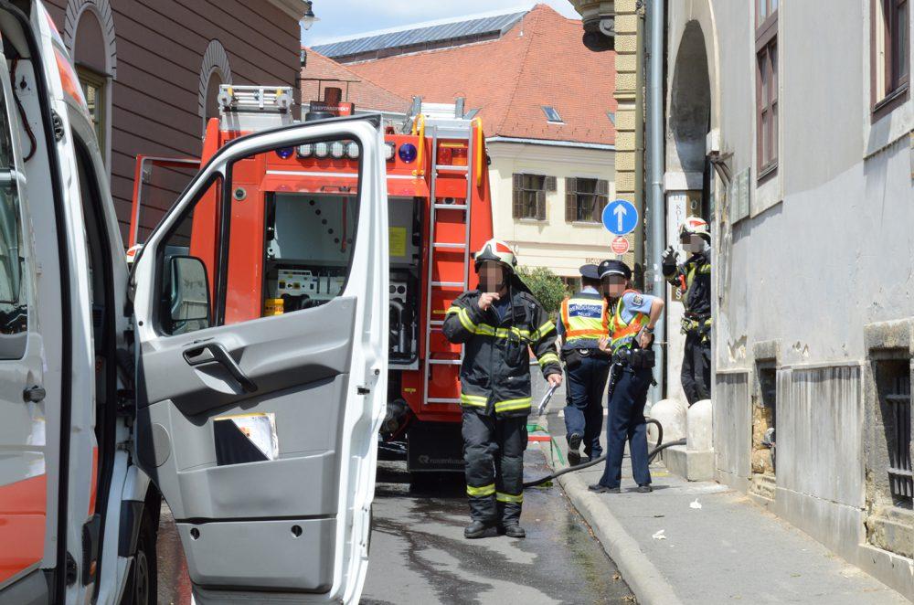 A kiérkező tűzoltók egyből eloltották a tüzet