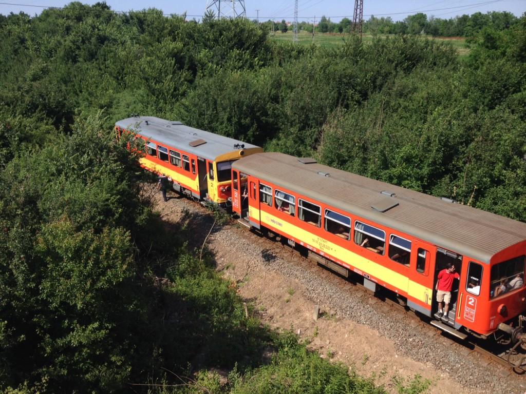 vonatgázolás