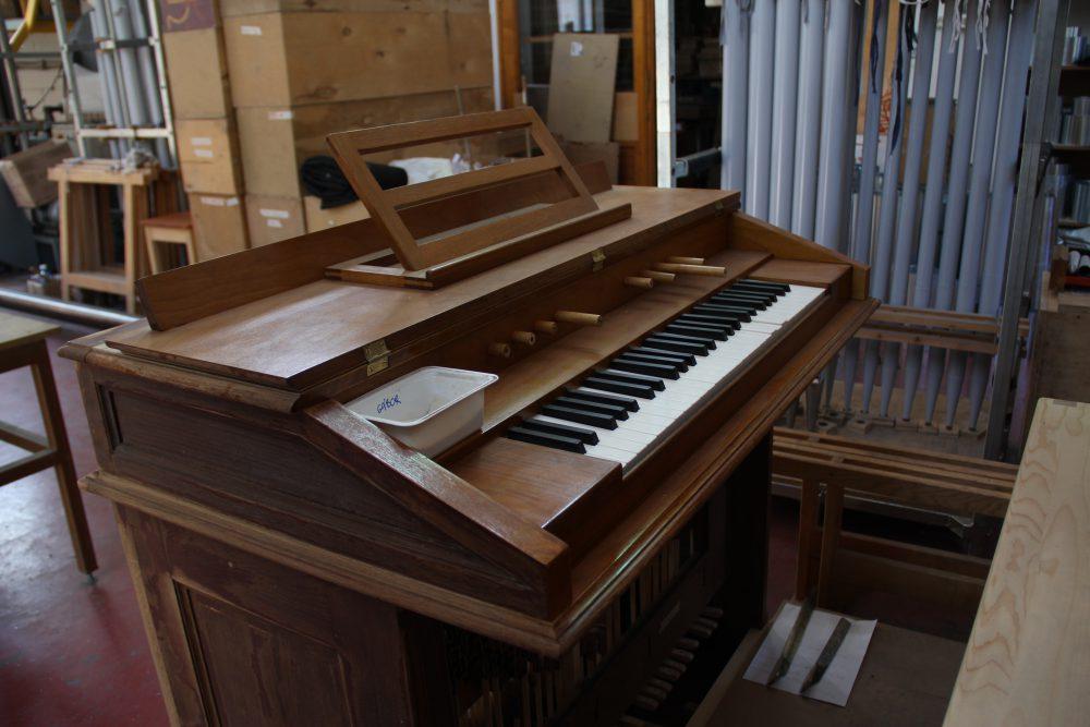 Egy felújításra váró orgona