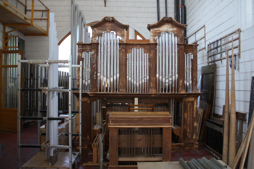 Ebben az orgonában baglyok haltak meg évtizedekkel ezelőtt