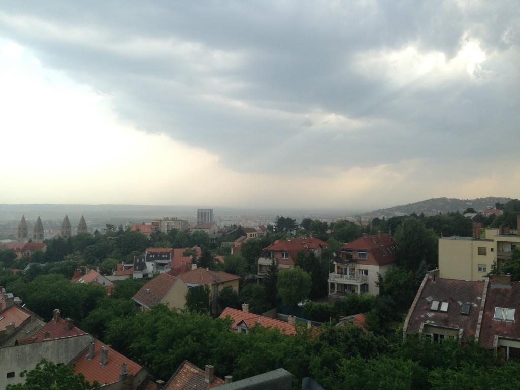 vihar Pécs