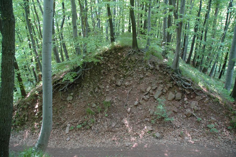 A jakab-hegyi kelta földvár  maradványai