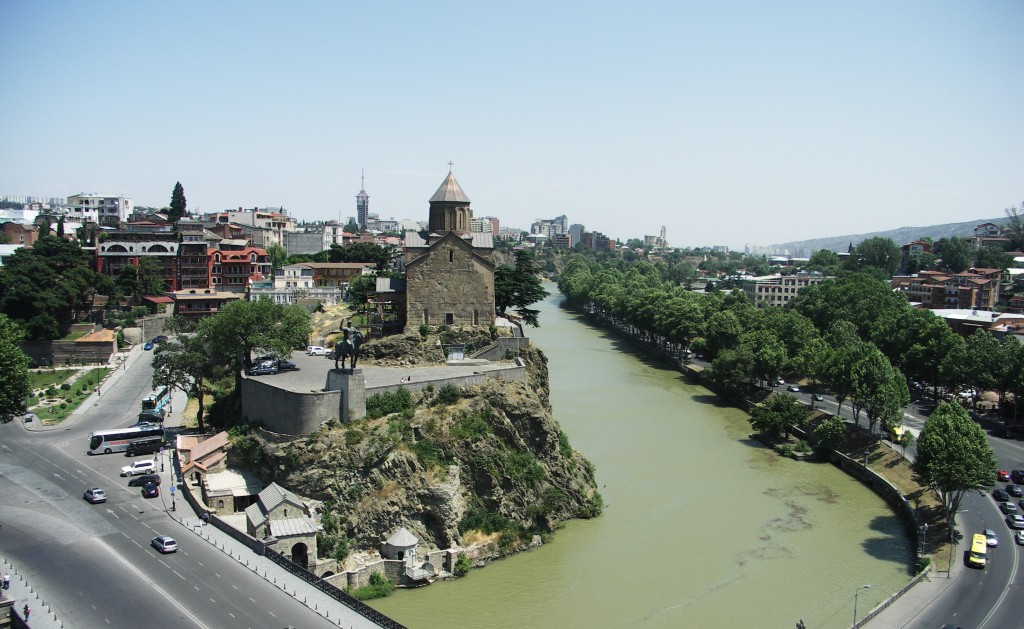 Tbiliszi, a grúz főváros