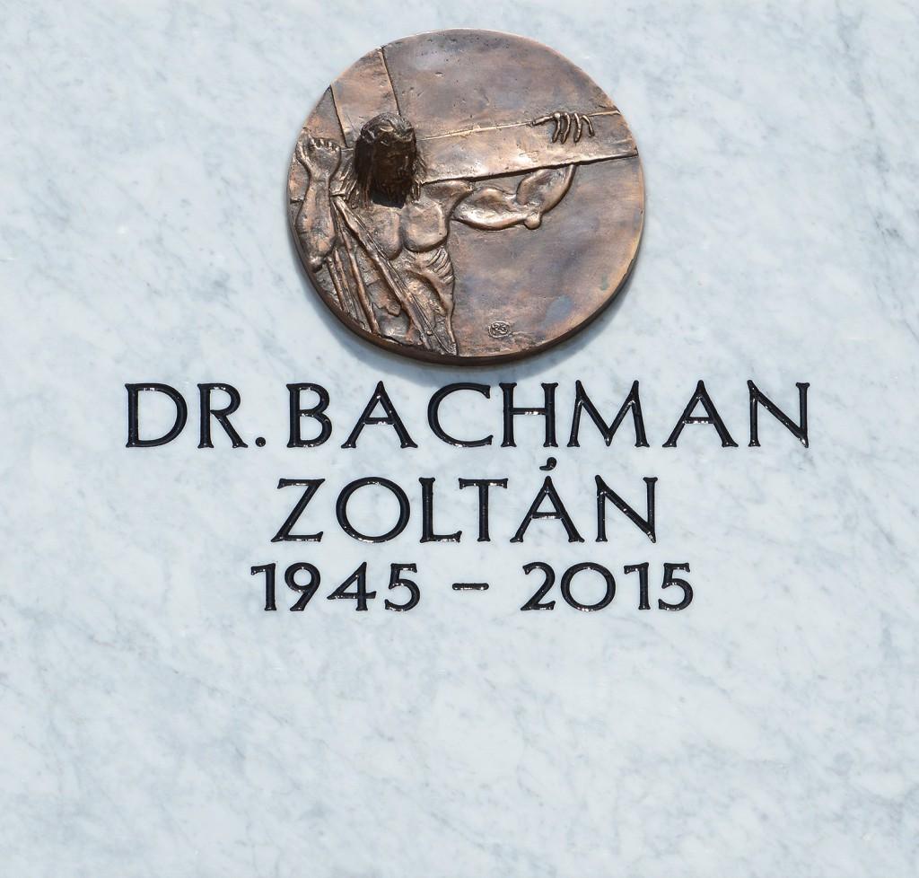 bachman zoltán, temetés10