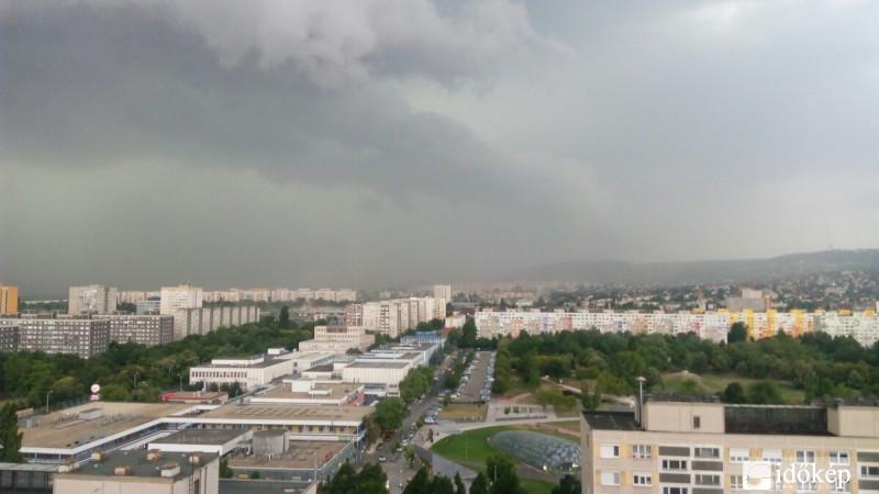 vihar - Buadpest