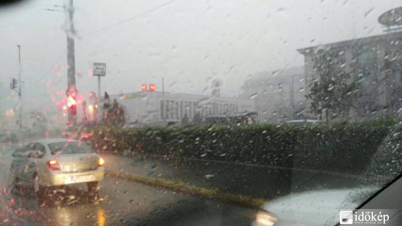 vihar - Budapest