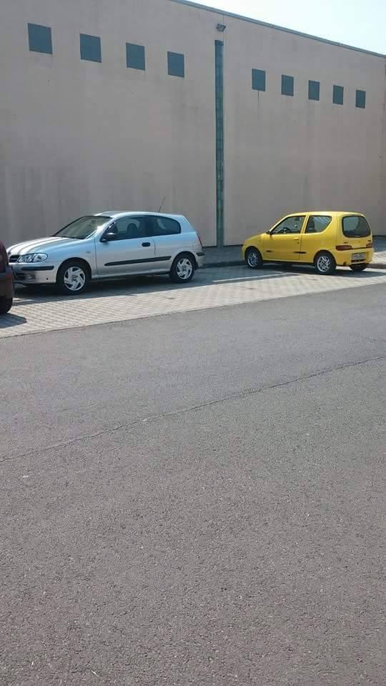 A plázánál is parkolnak rendesen