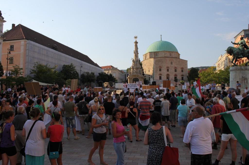 Martonfa, tüntetés01