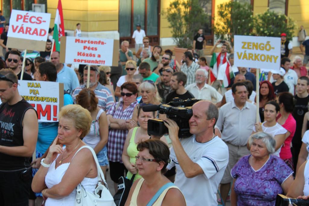 Martonfa, tüntetés02