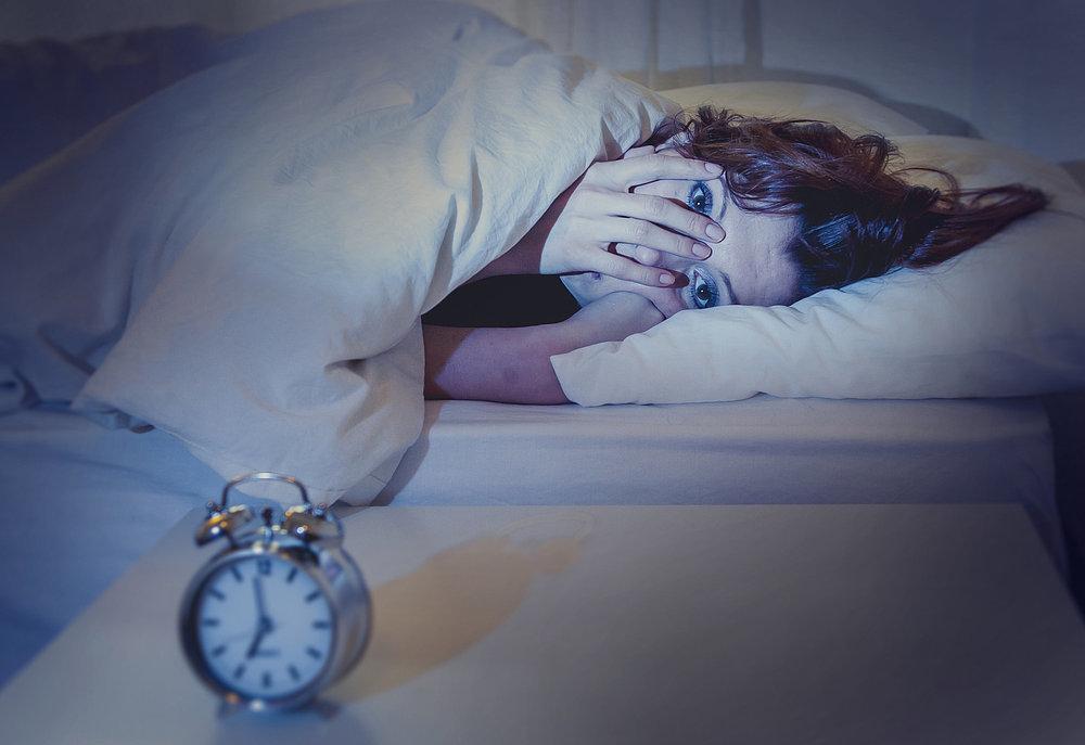 alvás, éjszaka, álom, éhes