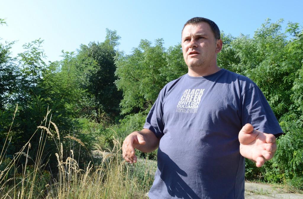 menekült kérdés-tiltakozók martonfán14-Bosnyák Attila András