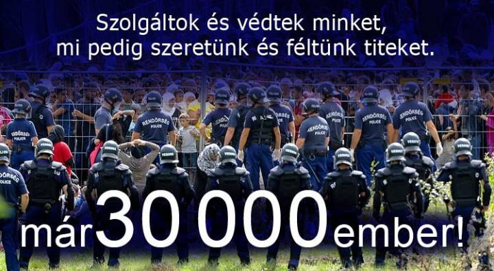 rendőrség, migráns