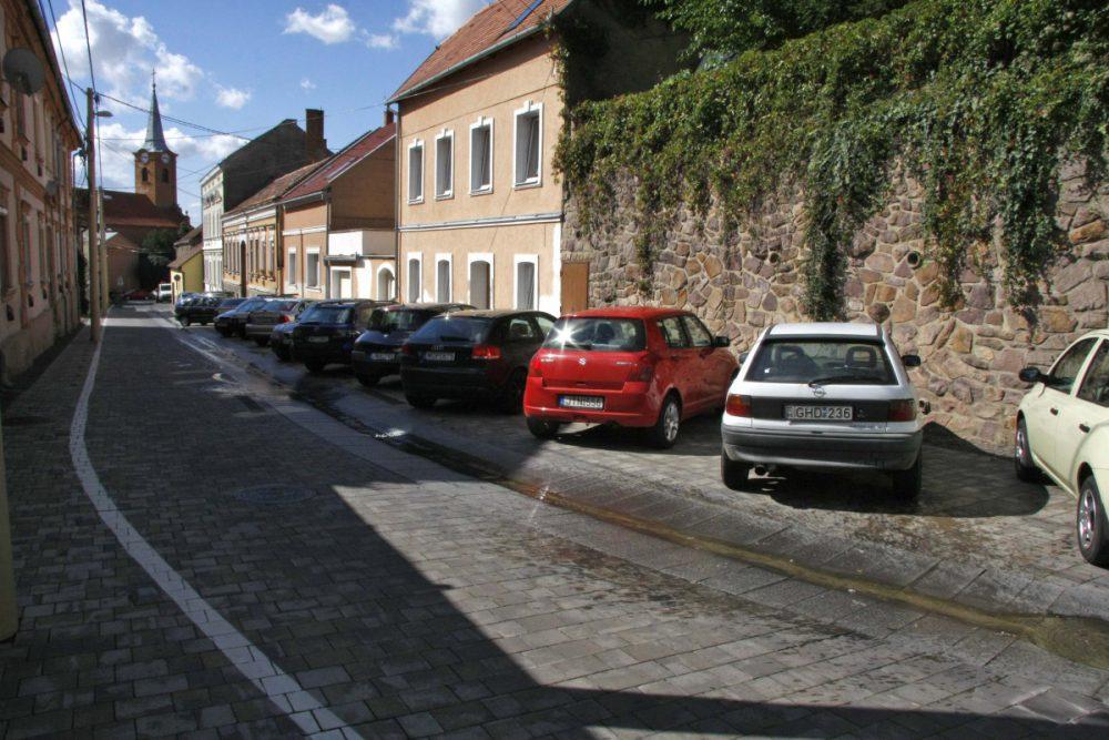 Az oldalazós parkolás a gyakorlatban