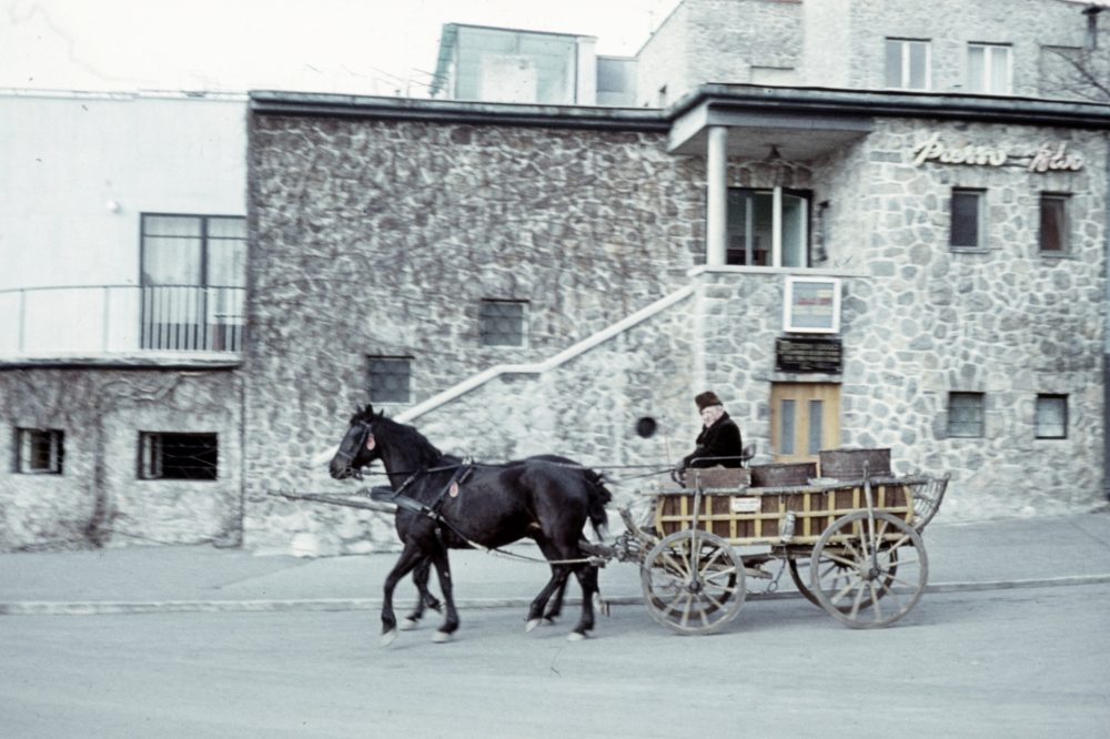 1973-ban még lovaskocsik jártak a Kikelet előtt