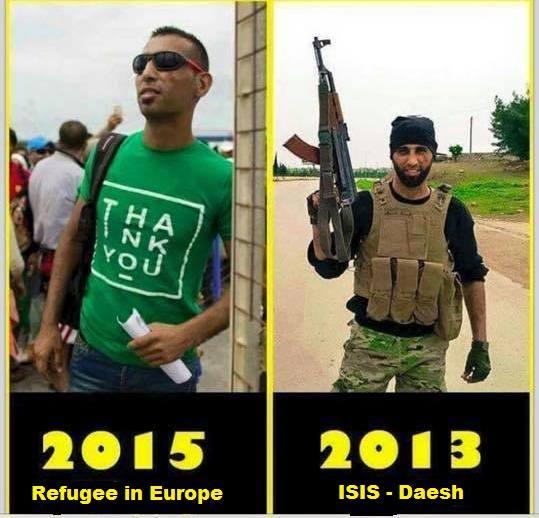 menekült terrorista