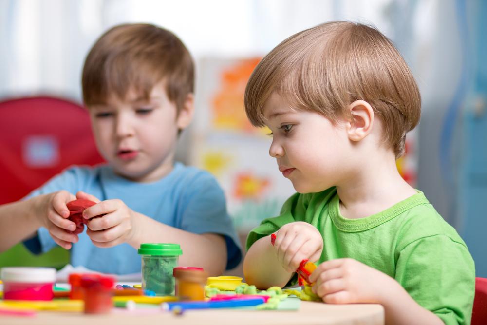 gyerek, játék, óvoda
