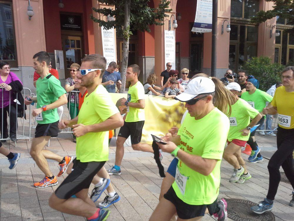 Maratoni teher ez a futás