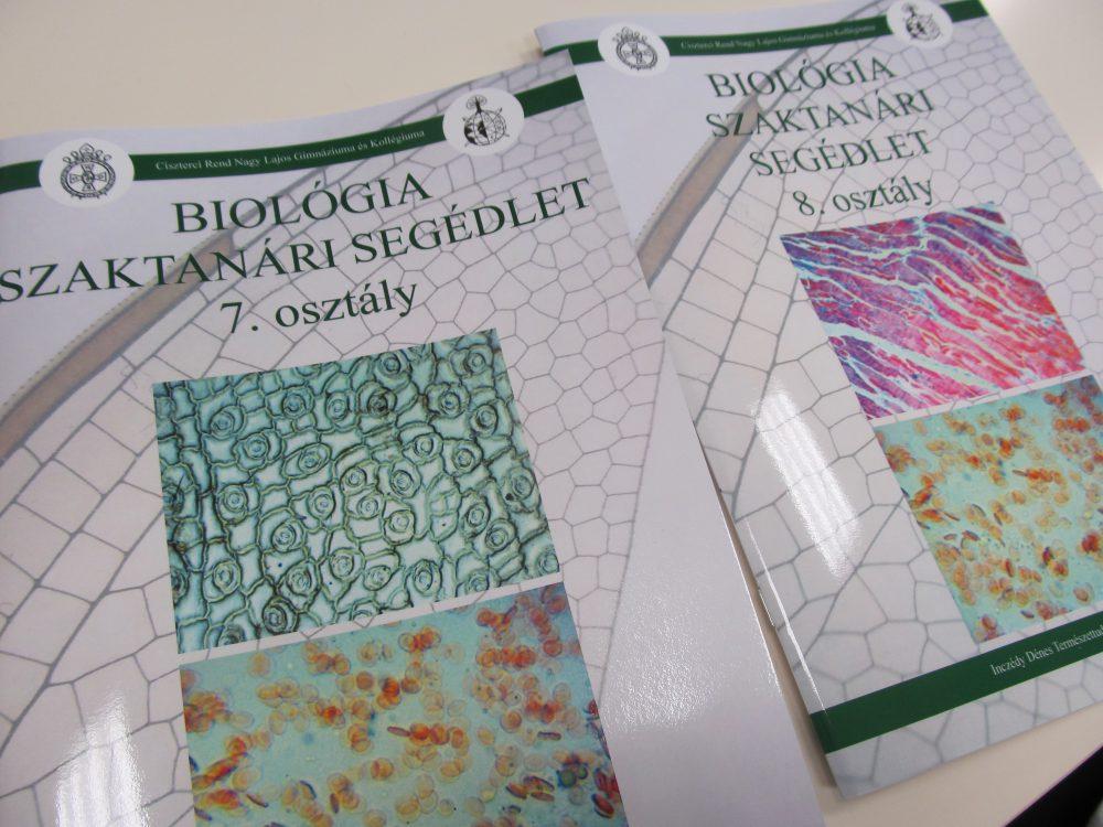 A Nagy Lajos Gimnázium saját készítésű tankönyvei