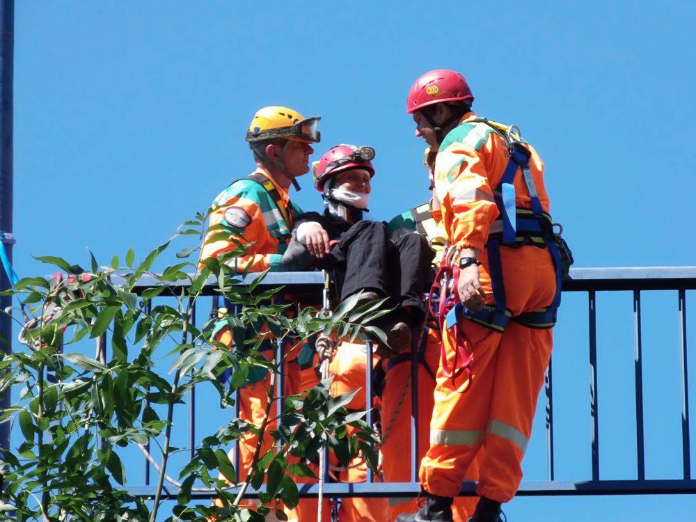 Mindent tudnak a mentésről (Fotó: Katasztrófavédelem)