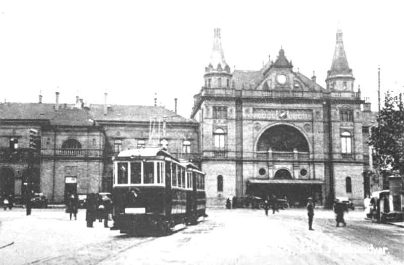 Pécs kapuja, amikor még mentek a villamosok