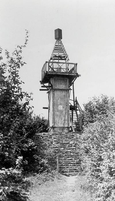 Az István-kilátó 1959-ben