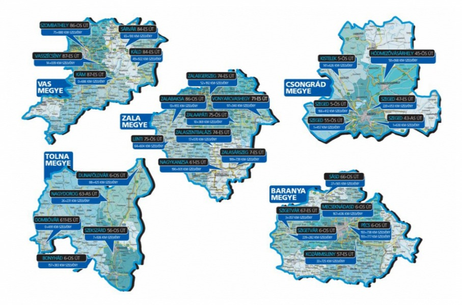 traffipax térkép