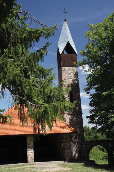 Kolostorból épült kilátó