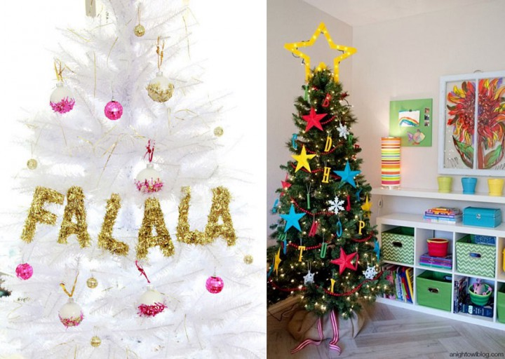 karácsonyfa Betűk