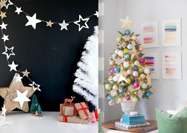 karácsony csillagok