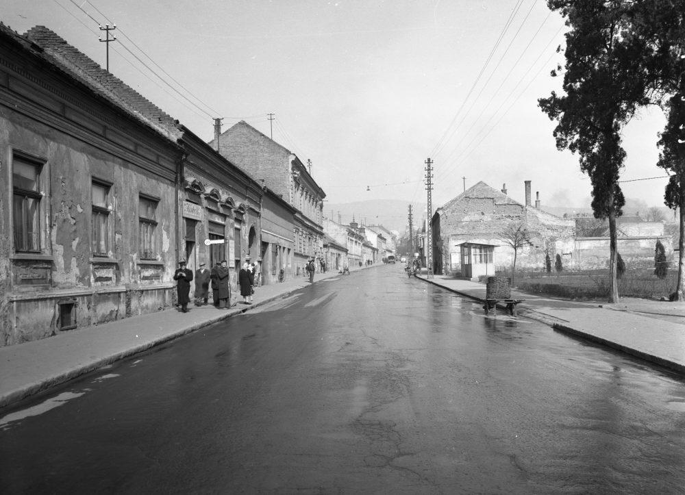 A Bajcsy-Zsilinszkij utca, 1960