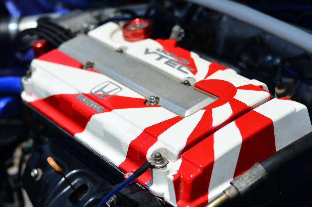 Egy igazi Honda-rajongó motorja